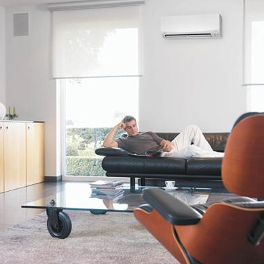 Sunshine Coast Daikin Corawall mounted split system air conditioner