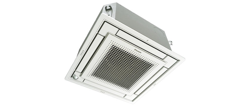compact ceiling cassette air conditioner